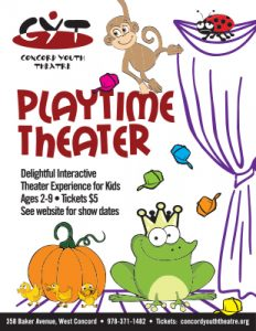 Playtime Theater Check our website for show listings