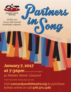 Cabaret 2017 – Partners in Song
