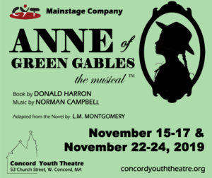 MainStage Company - Concord Youth Theatre