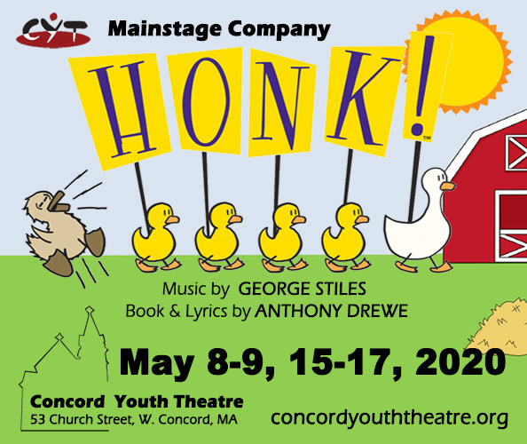Audition for CYT's Spring Mainstage Musical – Honk!