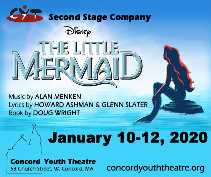 Audition for CYT's Secondstage Production – The Little Mermaid