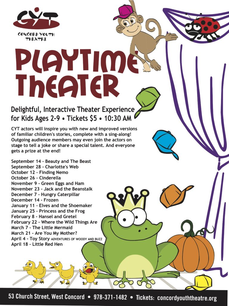 Playtime Theater is Back!